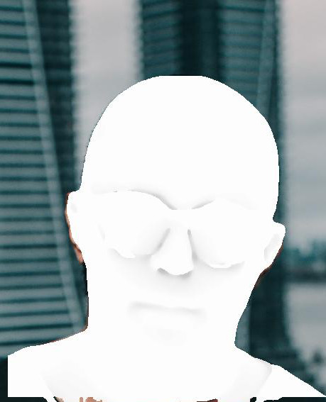 Facial ambient occlusion estimation for face augmentation example